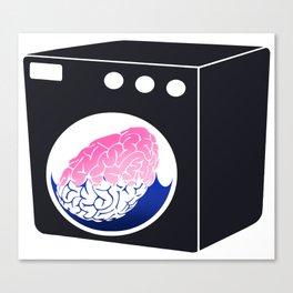 Brainwasher Canvas Print