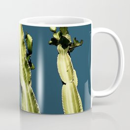 Cactus - blue Coffee Mug