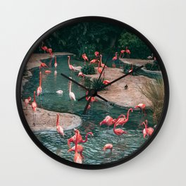 The Tropics Wall Clock