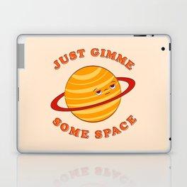 Just Gimme Some Space - Orange Laptop & iPad Skin