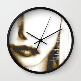 """""""go to the devil"""" Wall Clock"""