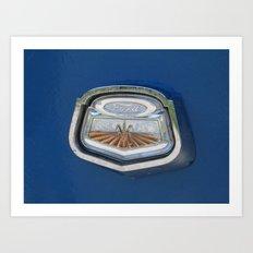 Vintage FORD Truck Badge Art Print