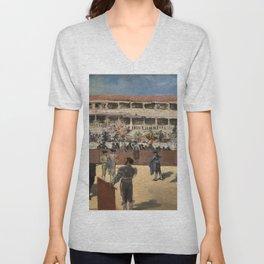 Bullfight - Edouard Manet Unisex V-Neck