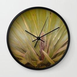 Frond Fan Wall Clock