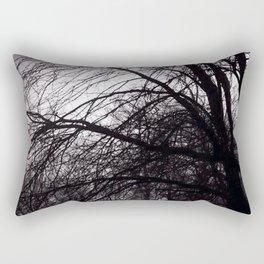Dark Trees III Rectangular Pillow