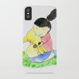 Bia and Little Bread Hugging iPhone Case