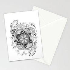 Turn black and white Stationery Cards
