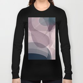 Blush Purple and Blue IV Long Sleeve T-shirt