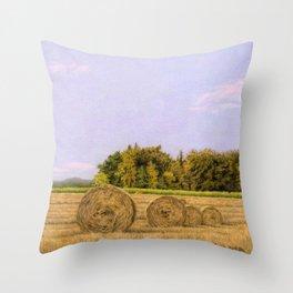 An Autumn Evening Throw Pillow