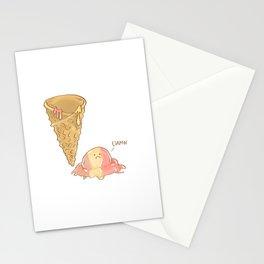 Damn Ice cream Stationery Cards