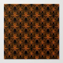 Copper Butterflies Canvas Print