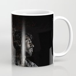 Man Portrait Coming Together Coffee Mug