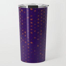 leo zodiac sign pattern po Travel Mug