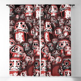 Japanese dolls Blackout Curtain