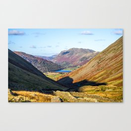 Long and Winding Road. Canvas Print