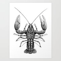 cancer Art Prints featuring Cancer by PAgata