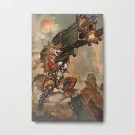 Hellfire Metal Print