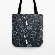 Space Doodles Tote Bag