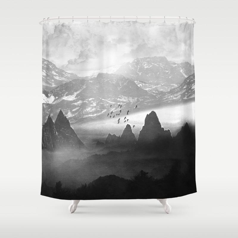 Winter shower curtain - Winter Shower Curtains On Ebay