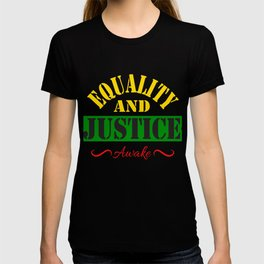 Equality and Justice tee design made specially for for justice lovers like you!  T-shirt