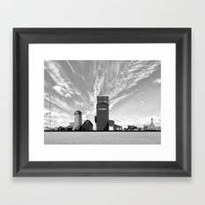 Steer to Steeple Framed Art Print
