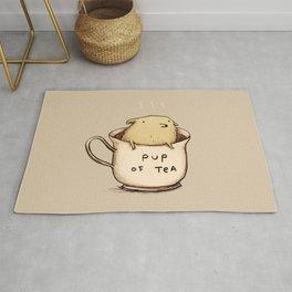 Pup of Tea Rug