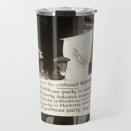 Suffragists Picketing the Republican Convention, 1922 Travel Mug