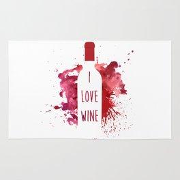 wine bottle Rug