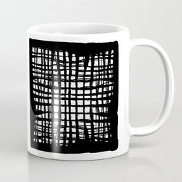black and white screen Coffee Mug