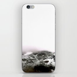 Winter comes to mountains iPhone Skin