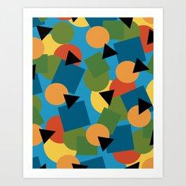 Geo-Toss Art Print