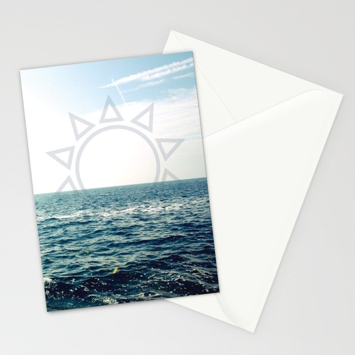 Water Vibes Stationery Cards