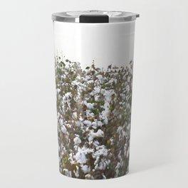 Cotton Field #minimalism Travel Mug