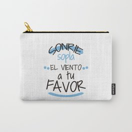 Sopla el viento a tu favor Carry-All Pouch