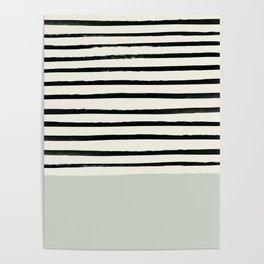 Coastal Breeze x Stripes Poster