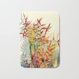 Heliconia Bouquet Bath Mat