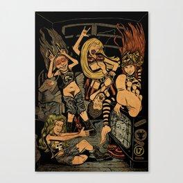 L7 rock Band Canvas Print