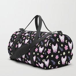 Sakura Cat Duffle Bag