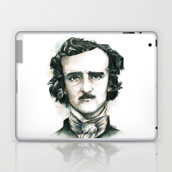 Edgar Allan Poe and Ravens Laptop & iPad Skin