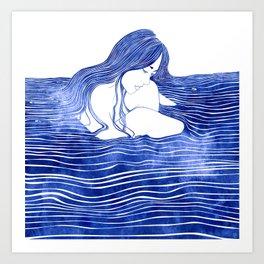 Nereid XXI Art Print