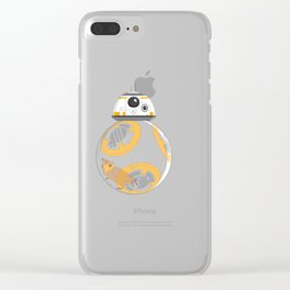Hamster BBall Clear iPhone Case
