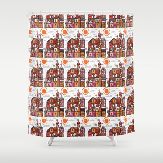 chateau Shower Curtain