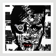 Black and White.. Art Print