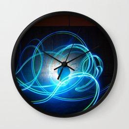 Woody W. Wall Clock