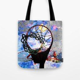 Basketball art spotlight vs 7 Tote Bag