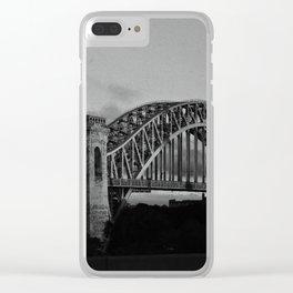 N Why Bridge Clear iPhone Case