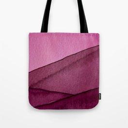 Magenta Hill Tote Bag