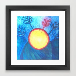 MOTHER SUNTREE Framed Art Print