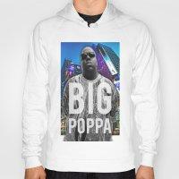 big poppa Hoodies featuring Big Poppa // NY by Lukasjohnsen