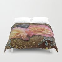 all you need is love Duvet Covers featuring All You Need is Love by Joke Vermeer